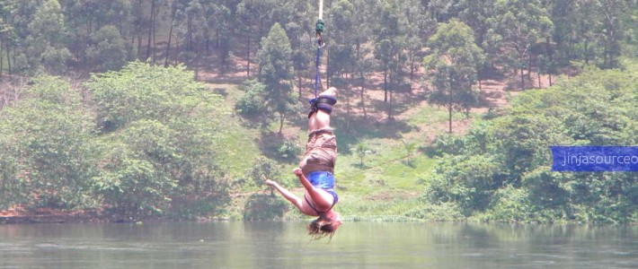UNLEASH YOUR ADRENALINE ON A BUNGEE JUMP INTO THE RIVER NILE