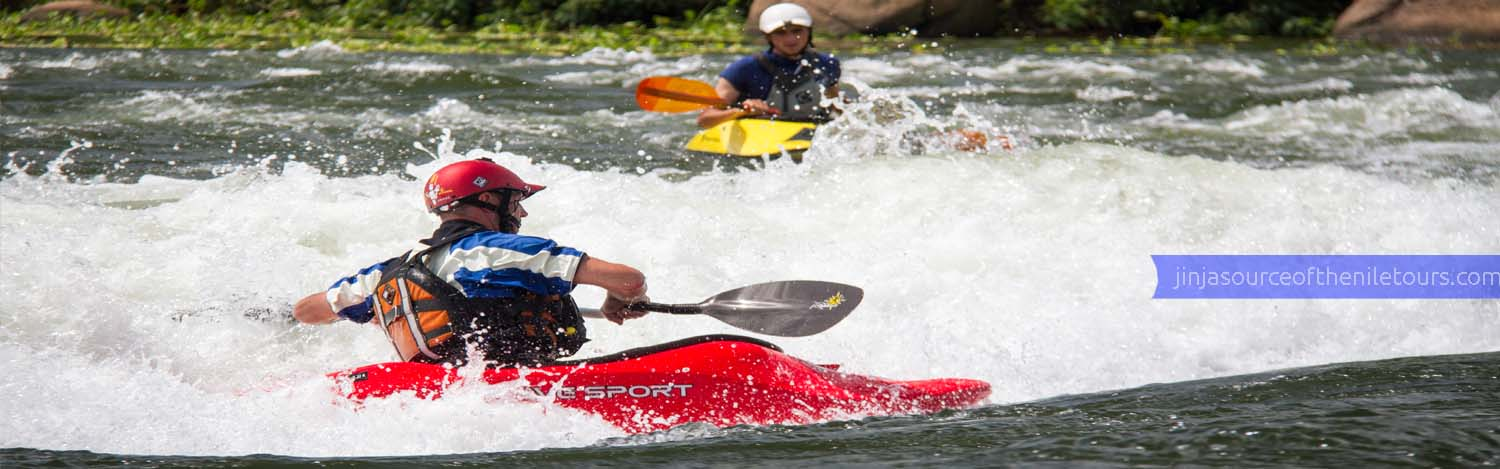 White water rafting only on a Uganda adventure safari