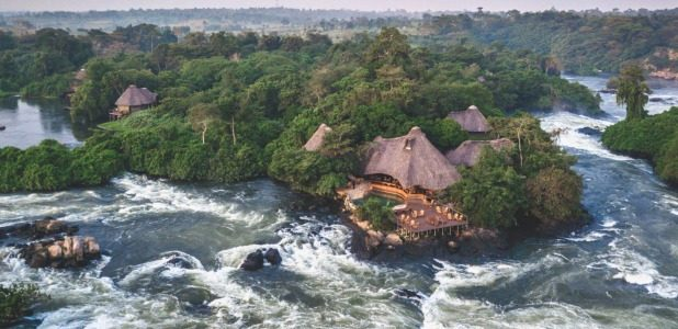 Where to stay in Jinja source of the Nile