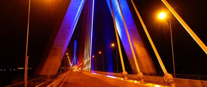 New cable stayed bridge at the source of the Nile changes Jinja skyline