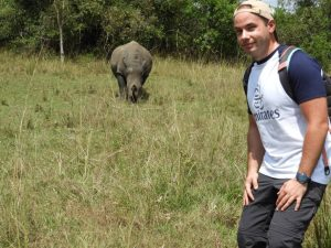 Rhino tracking at Ziwa Rhino Sanctuary