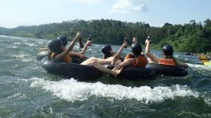 Tubing the Nile River