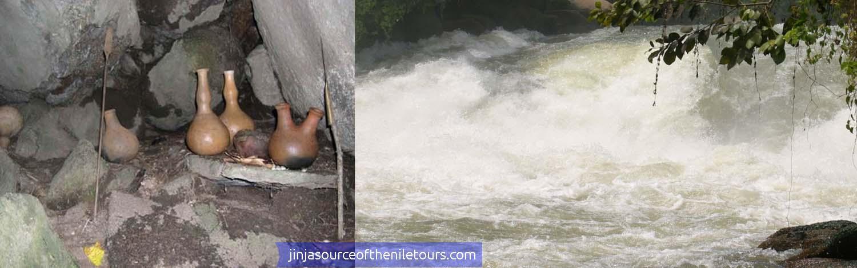 Views at Kalagala Falls Spirits tree